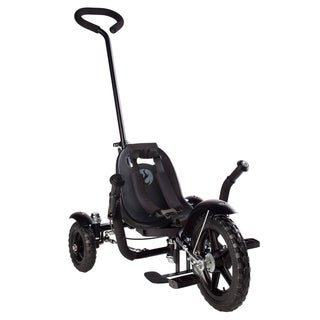 Mobo Total Tot The Roll-to-Ride Three-Wheeled Black Cruiser