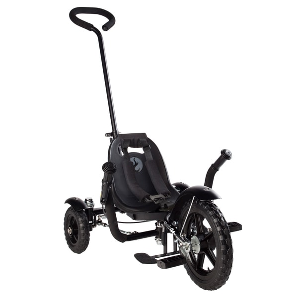 Mobo Total Tot The Roll-to-Ride Three Wheeled Black Cruiser