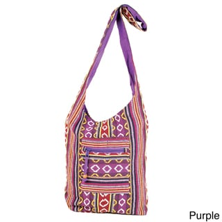 Classic Cotton Yogi Sling Bag (India)