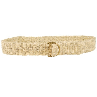Natural Classic Hemp Belt (Nepal)