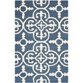 Safavieh Handmade Cambridge Moroccan Navy Oriental Wool Rug