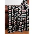 Sugar Skulls Printed 50x60-inchThrow