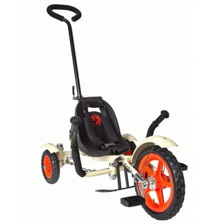 Mobo Total Tot The Roll-to-Ride Three Wheeled Ivory Cruiser