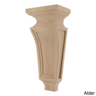 GlideRite Hand-carved Solid Hardwood Corbel