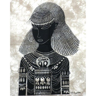 Pokot Girl Heidi Lange Screen Print (Kenya)