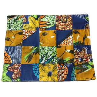 Set of Four Autumn Placemats and Napkins (Rwanda)