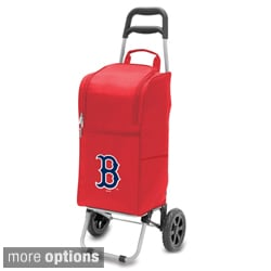 MLB 15-quart Insulated Cooler with Folding Trolley