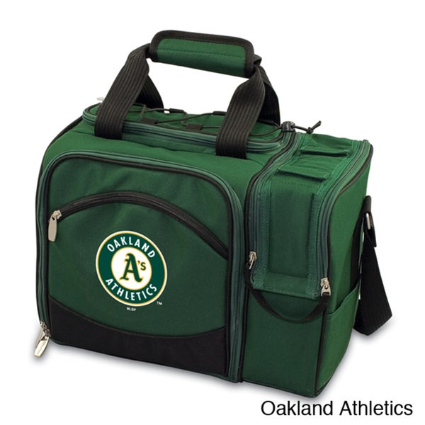 MLB 'Malibu' Utensils and Dishes Insulated Polyester Picnic Pack 11058126