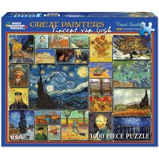 White Mountain Puzzles Vincent Van Gogh 1000 Piece Jigsaw