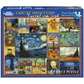 White Mountain Puzzles Vincent Van Gogh 1000 Piece Jigsaw