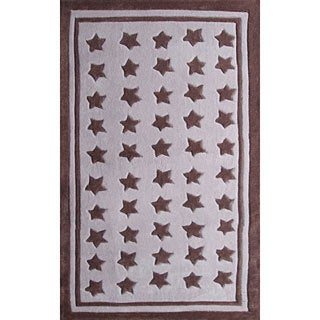 Starapalooza Purple Area Rug (4'7 x 7'7)