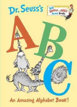 Dr. Seuss's ABC: An Amazing Alphabet Book! (Board book)