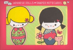 Japanese Dolls Shaped Notecards (Cards)