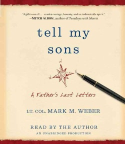 Tell My Sons: A Father's Last Letters (CD-Audio)