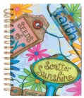Garden Markers Scriptured Journal: 96 Ruled Full Color Pages (Notebook / blank book)