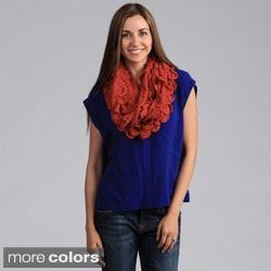 Saro Women's Knitted Infinity Scarf