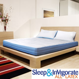Sleep & Invigorate 8-inch Queen-size All Latex Mattress