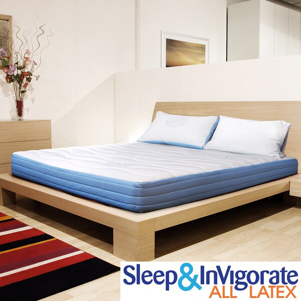 Sleep & Invigorate 8-inch Queen-size All Latex Mattress