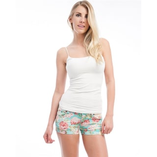 Stanzino Juniors 'Bright Skies' Floral Summer Shorts