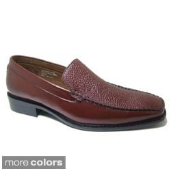 Delli Aldo Men's Slip-on Textured Loafers