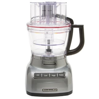 KitchenAid RKFP1344MC Metallic Chrome 13-cup Architect Food Processor with Die-cast Base (Refurbished)