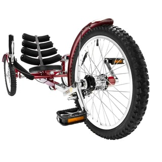 Mobo Shift The Worlds First Reversible Three Wheeled Adult Red Cruiser