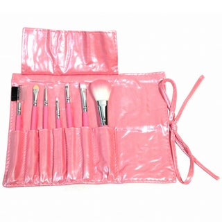 Professional 7-piece Brush Set with Carry Pouch