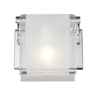 Zephyr 1-light Chrome Wall Sconce