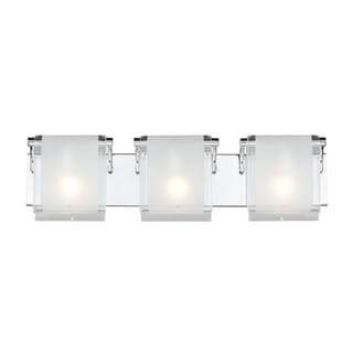 Zephyr 3-light Chrome Wall Sconce