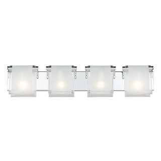 Zephyr 4-light Chrome Wall Sconce