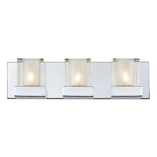 Aster 3-light Polished Chrome Vanity