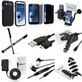 Case/ Screen Protector/ Headset/ Cable/ Mount for Samsung Galaxy S3