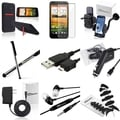 Case/ Screen Protector/ Headset/ Cable/ Mount for HTC EVO 4G LTE