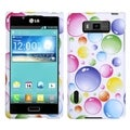 MYBAT Rainbow Bigger Bubbles Protector Case for LG US730 Splendor