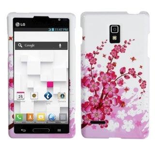 MYBAT Spring Flowers Diamante Protector Case for LG P769 Optimus L9