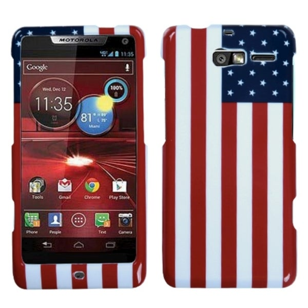 MYBAT United States National Flag Case for Motorola XT907 Droid Razr M