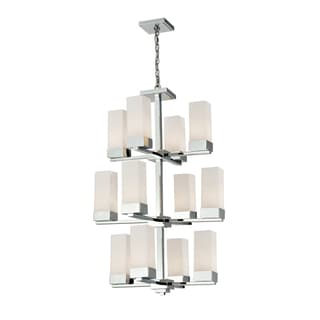 Sapphire 12-light Polished Chrome Chandelier
