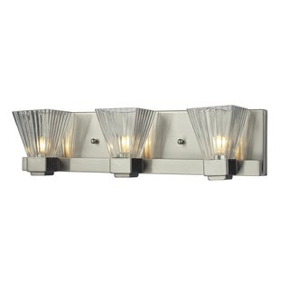 Iluna 3-light Brushed Nickel Vanity