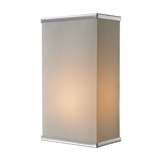 Rego 1-light Chrome Wall Sconce
