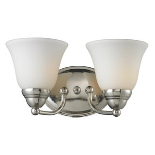 Athena 2-light Chrome Wall Sconce