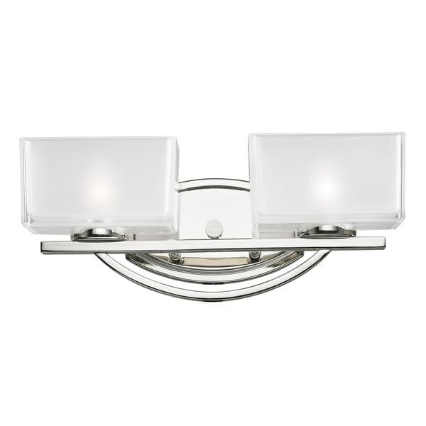 Cardine 2-light Chrome Vanity