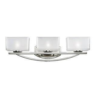 Cardine 3-light Chrome Vanity