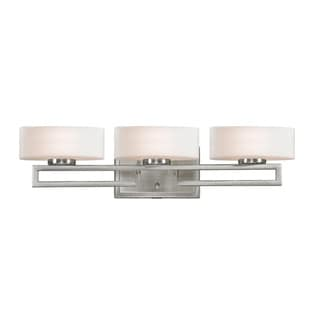 Cetynia 3-light Brushed Nickel Vanity