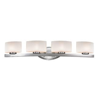 Galati 4-light Brushed Nickel Fixture