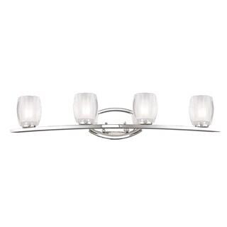 Haan Chrome 4-light Vanity Light
