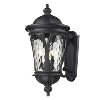 Doma 5-light Black Outdoor Wall Light Fixture