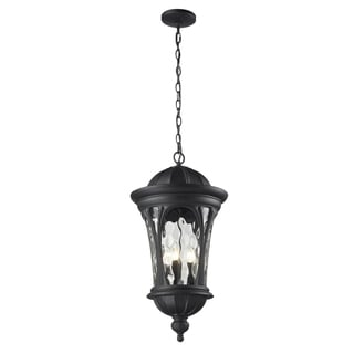 Doma 5-light Black Hanging Lantern