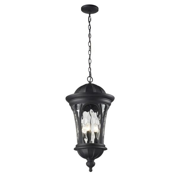 Doma 5-light Black Hanging Lantern 11063681