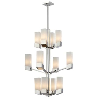 Zen 12-light Chrome Chandelier