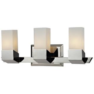 Zen 3-light Chrome Vanity